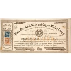 North Star Gold, Silver and Copper Mining Company Stock  #80575