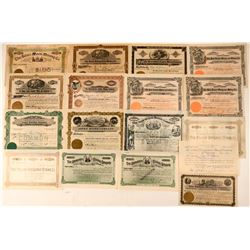 Aspen / Pitkin County Mining Stock Certificate Collection  #107700