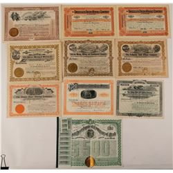 Telluride, Colorado Mining Stock Certificate Collection  #107684