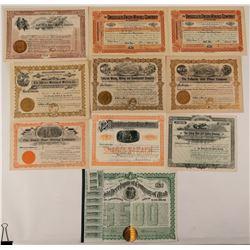 Telluride, Colorado Mining Stock Certificate Collection  #107684