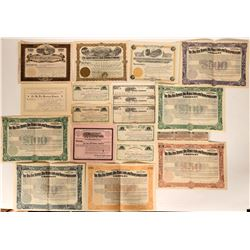 Ward, Boulder Colorado Big Five Mine Certificates  #109085