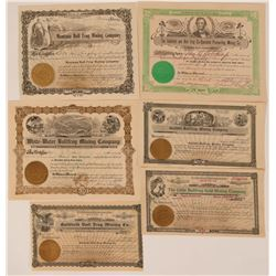 Bullfrog, Nevada Stock Certificates- Group 2  #110058