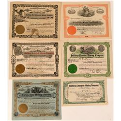 Bullfrog, Nevada Stock Certificates- Group 3  #110059