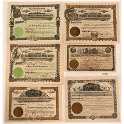 Bullfrog, Nevada Stock Certificates- Group 6  #110062