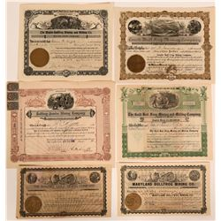 Bullfrog, Nevada Stock Certificates- Group 9  #110065
