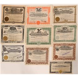 Elko County Stock Certificate Collection  #110137