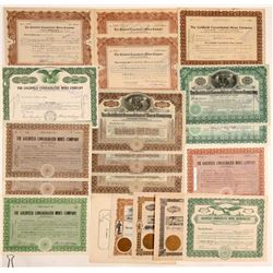 Goldfield Consolidated Mines Stock Collection  #102510