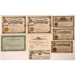 Lander County, Nevada Stock Certificate Group  #110148