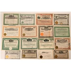 Pioche, Nevada Stock Certificate Collection  #110238