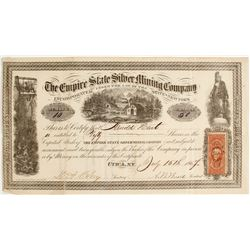 Empire State Silver Mining Company Stock  #80465