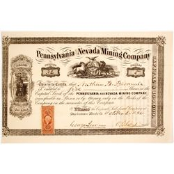 Pennsylvania Nevada Mining Company  #80405