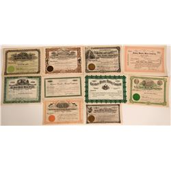 Wonder, Nevada Stock Certificates- Group 3  #110079