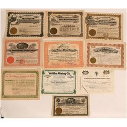 Wonder, Nevada Stock Certificates- Group 4  #110080