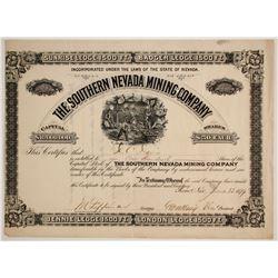 Southern Nevada Mining Company  #80454