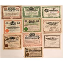 Bingham, Utah Stock Certificates- Group 4  #110092