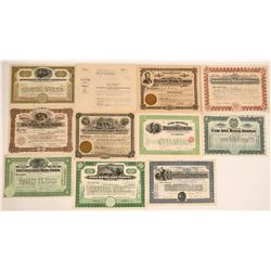 Bingham, Utah Stock Certificates- Group 5  #110093
