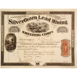 Silverthorn Lead Mining and Smelting Stock  #82101