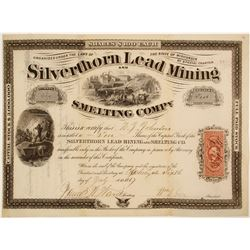 Silverthorn Lead Mining and Smelting Stock  #82108
