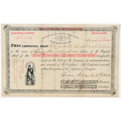 San Ricardo Mining Company Stock Certificate  #100894