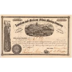 American and Mexican Silver Mining Company  #106644