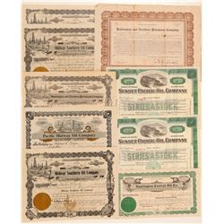 Southern California Oil Company Stock Collection  #103574