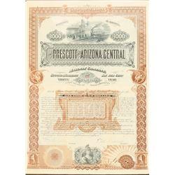 The Prescott and Arizona Central Railway Co  #101312