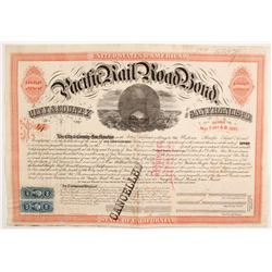 Pacific Railroad Bond  #84104