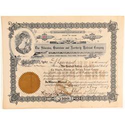 Silverton Gladstone and Northerly Railroad Co.  #104856