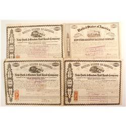 New York & Boston  Rail Road Co bonds  #87075