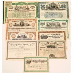 Various Chicago railroads  #106144