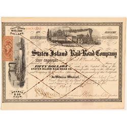 Staten Island Rail-Road Co  #106087