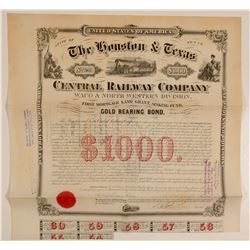 The Houston & Texas Central Railway Co  #103212