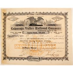 Cahuenga Valley Railroad Company  #82239