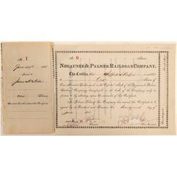 Negaunee & Palmer Railroad Company  #105159