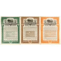 Aberdeen-Huron & Southern RY Co Bonds (3)  #57740