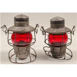 Railroad Lamps (Set of 2)  #106000