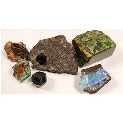 Semi-Precious Stones , Heizer Estate  #106467