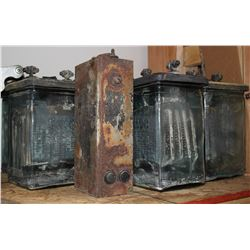 Exide Glass Batteries, c1920s  #108020