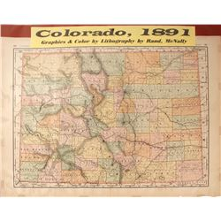 Map of Colorado  #59623