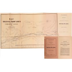 Uncle Sam Lode Book and Map, 1865  #110875