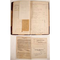 Ogle Mountain Mining Co. Business Ledger  #63505