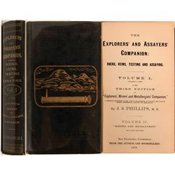 Explorers and Assayer's Companion by Phillips  #110735