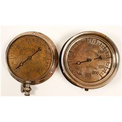 Two Large Gauges  #105679