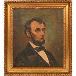 Abraham Lincoln Portrait Painting  #105926
