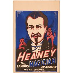 Heaney the Great Original c 1930's Indow Poster  #105928