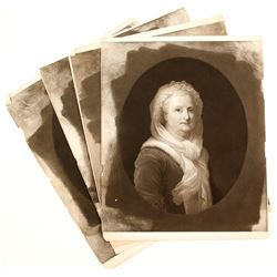 Martha Washington Engravings Prints (4)  #90595