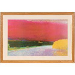 Print of Pastel Landscape  #109863