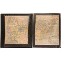 Civil War Print and Description Binder  #105934