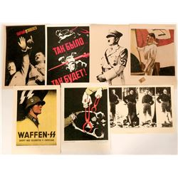 Seven Reproductions of WWII Propaganda Posters  #109838