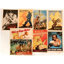 WWII Propaganda Posters, Various  #110657